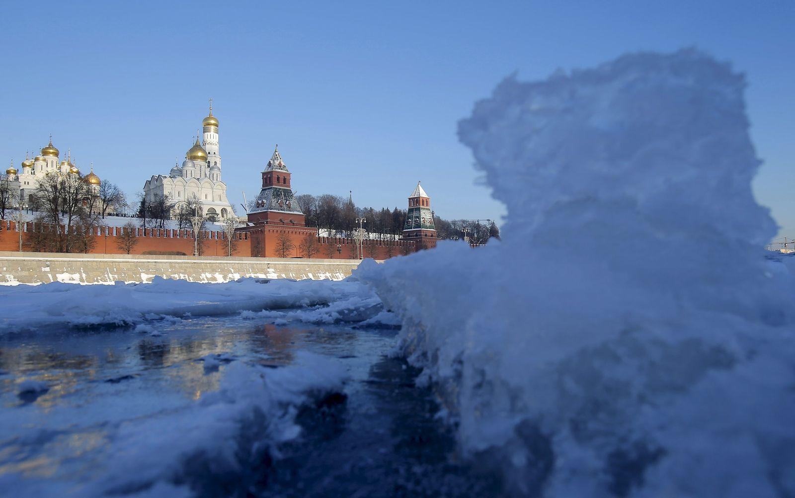 Russland/ Wetter