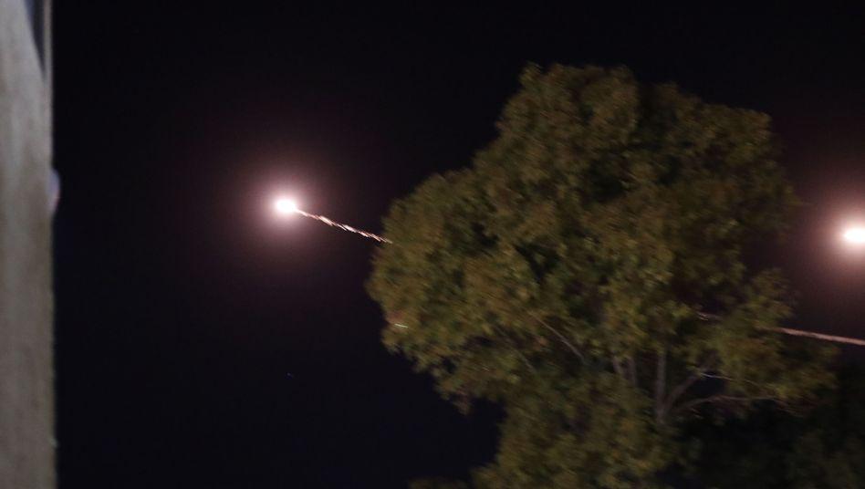 Israelisches Iron-Dome-Abwehrsystem: Raketen über Sderot