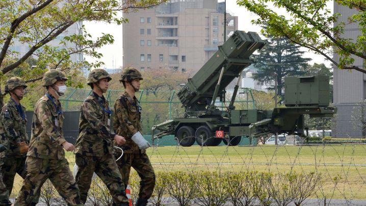 Konflikt mit Korea: Japan bringt Raketenabwehr in Tokio in Stellung
