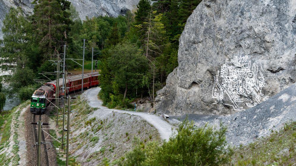 Kunstinstallationen in der Schweiz: Horizontal, vertikal, verwunderlich