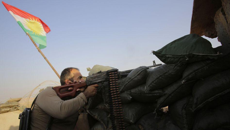 Peschmerga-Kämpfer im Irak: Neue Waffen aus Deutschland