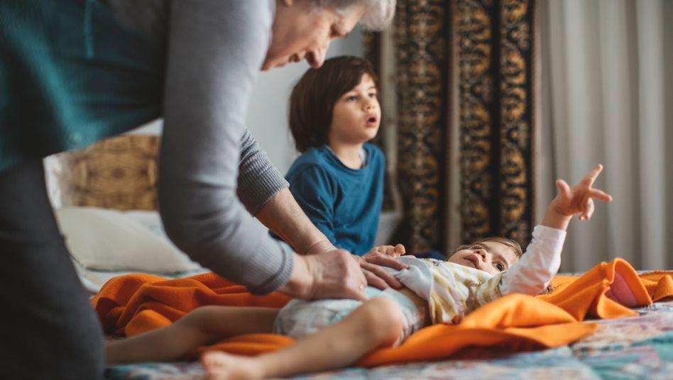 Großeltern sind toll – und entlasten auch die Eltern der Kinder