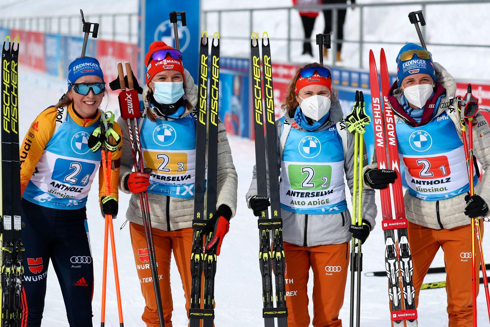 Biathlon-Weltcup in Italien