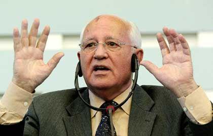 """Michail Gorbatschow: """"Putin hat eine sehr ernste und verantwortungsvolle Position eingenommen"""""""