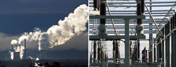 Kohlemeiler Staudinger, Pumpspeicher Niederwartha: Chaos im Kraftwerkpark