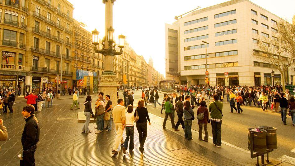 Junge Menschen in Barcelona: Chancenlos gegen die Politik der Alten