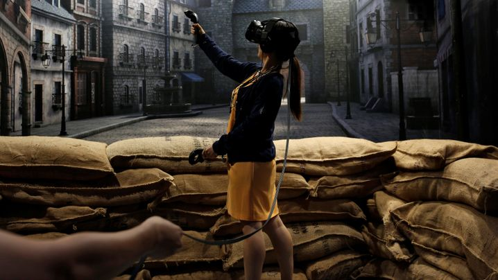 Unterwegs in Computerwelten: So funktioniert Fortbewegung in VR