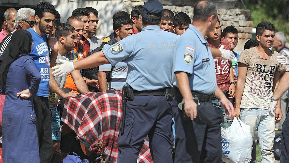 Neue Balkanroute: Kroatien meldet Ankunft Tausender Flüchtlinge