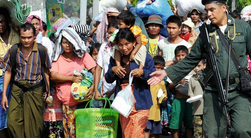 Burmesische Flüchtlinge in Thailand
