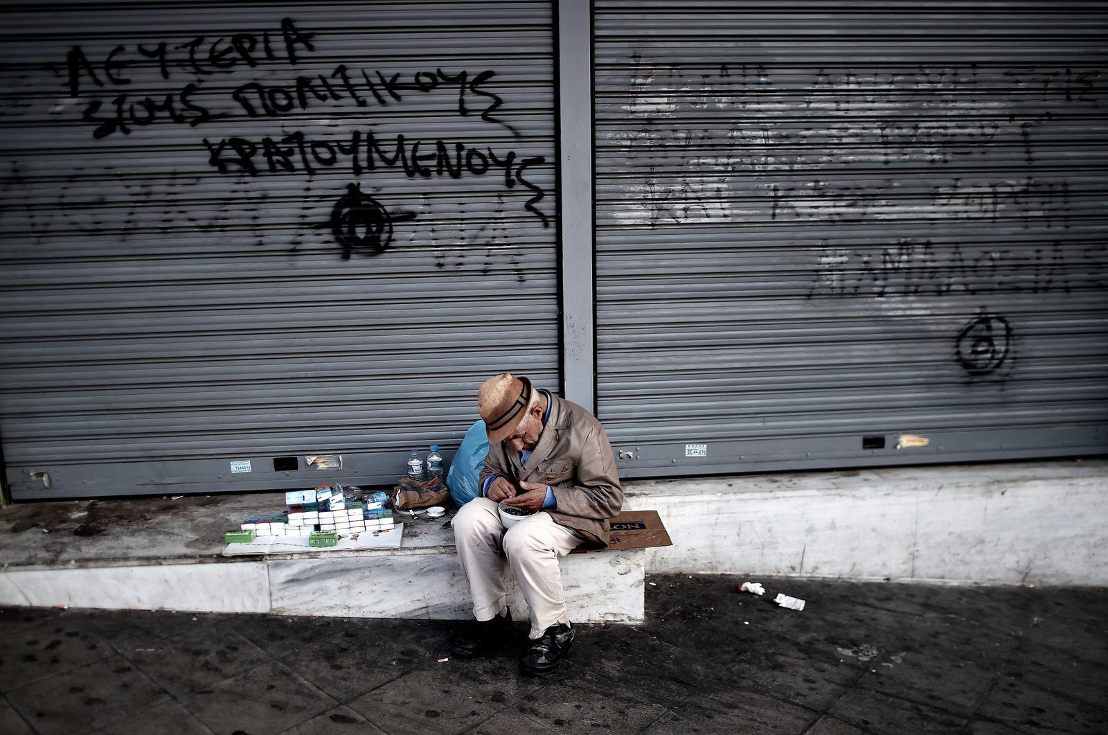 Konjunktur / Armut / Europa / Griechenland