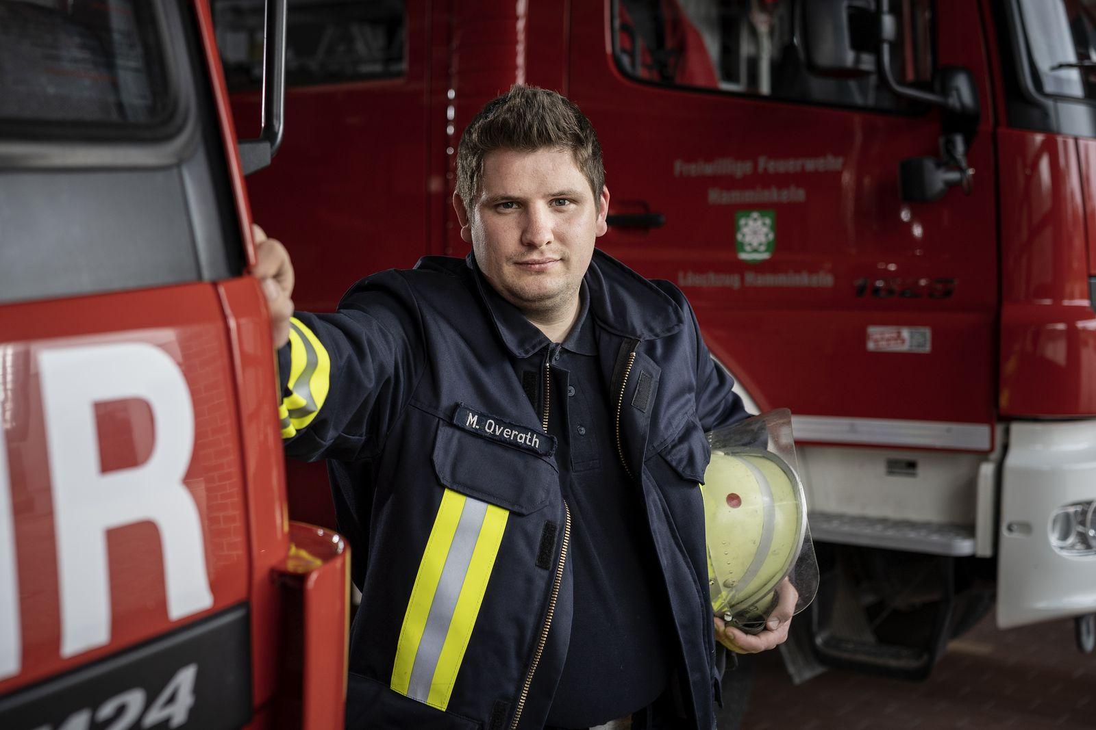 Feuerwehrmann Martin Overath