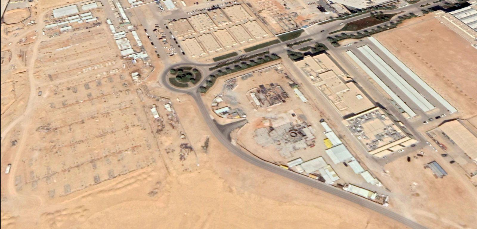 EINMALIGE VERWENDUNG Saudi Arabien/ Kernkraftwerk Reaktor