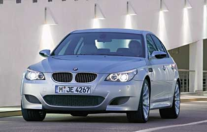 BMW M5: Als ob das Auto die Muskeln anspannen würde