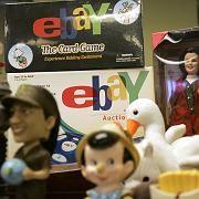 EBay-Paradies: Stand-Auslage auf einer eBay-Messe
