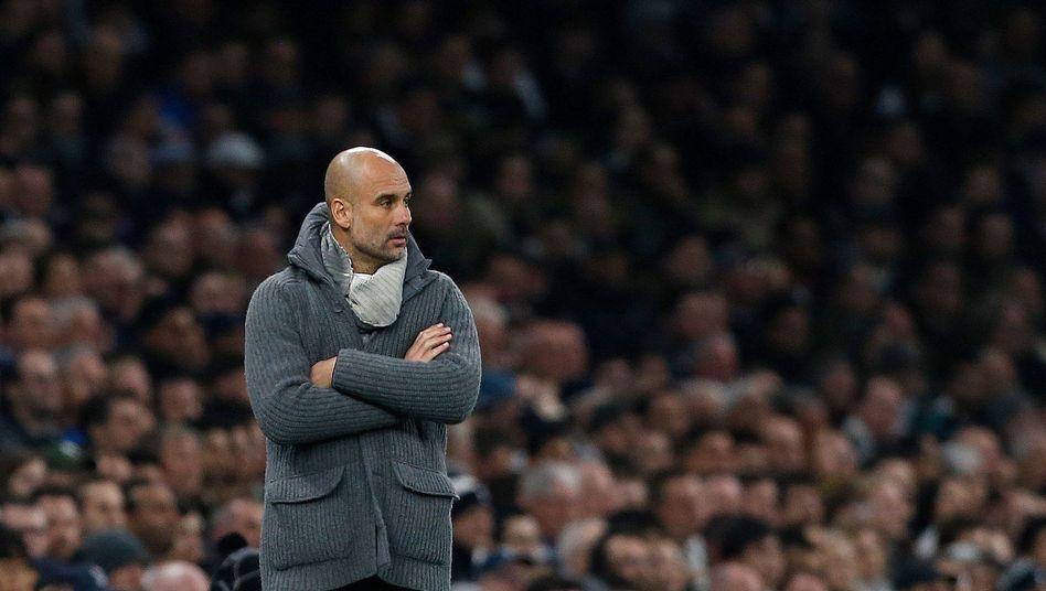 Pep Guardiola: Seit 2011 hat er in Viertel- und Halbfinalspielen der Champions League kein Auswärtsspiel gewonnen