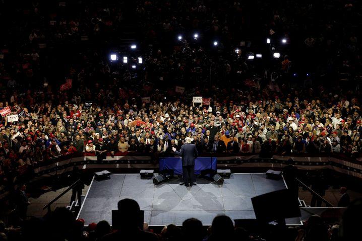 Trump in Cincinnati, Ohio
