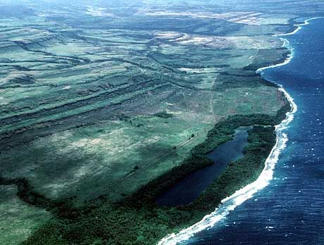 Aufstieg: Etwa zwei Meter wird das Korallenriff vor Papua-Neuguinea in 1000 Jahren angehoben