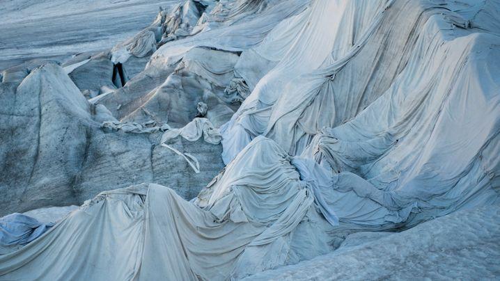 Rhonegletscher: Kampf gegen die Schmelze