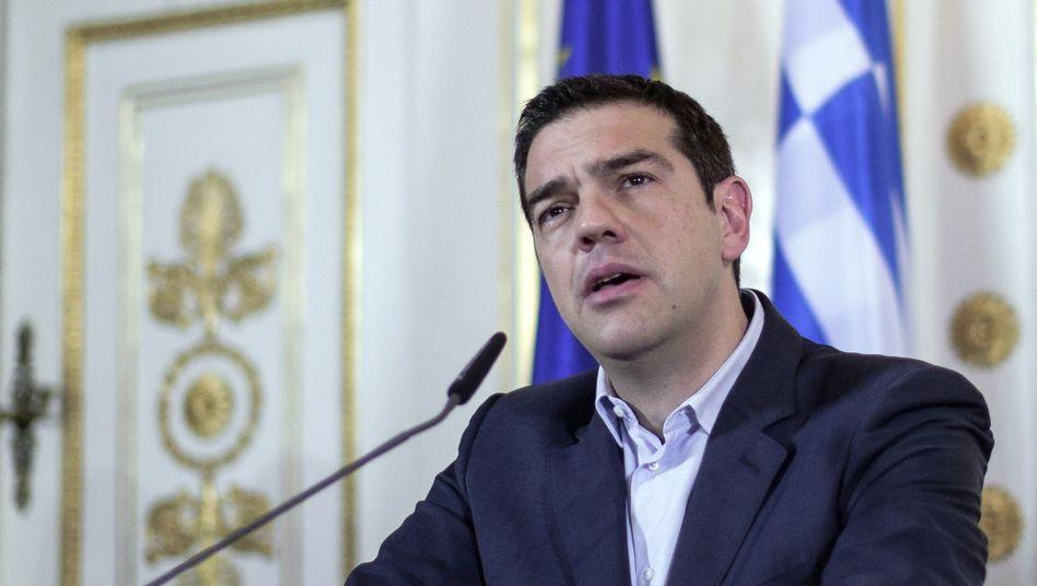 """Griechenlands Premier Tsipras: Umschuldung ist die """"rote Linie"""""""