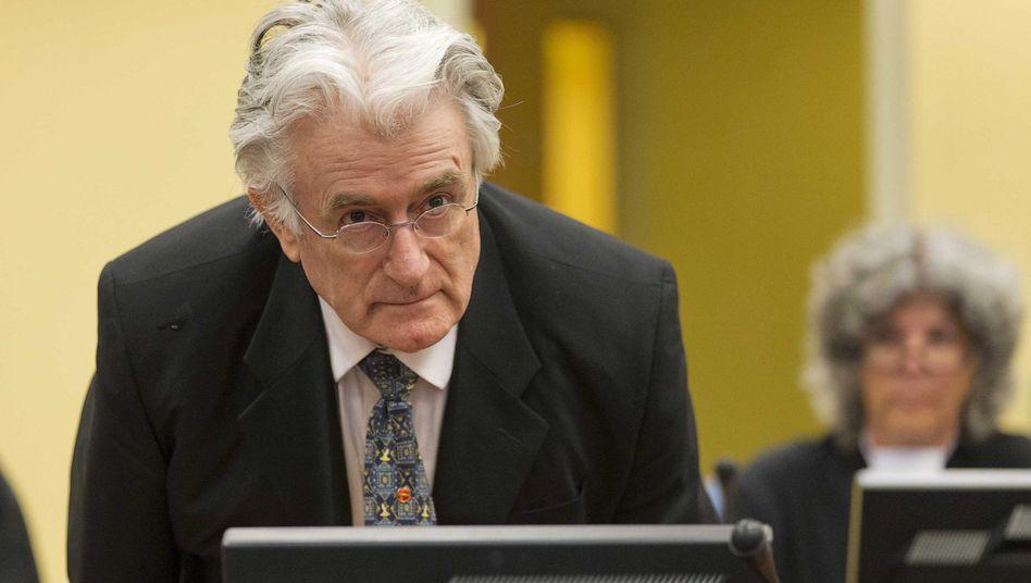 Radovan Karadzic in Den Haag (2013)