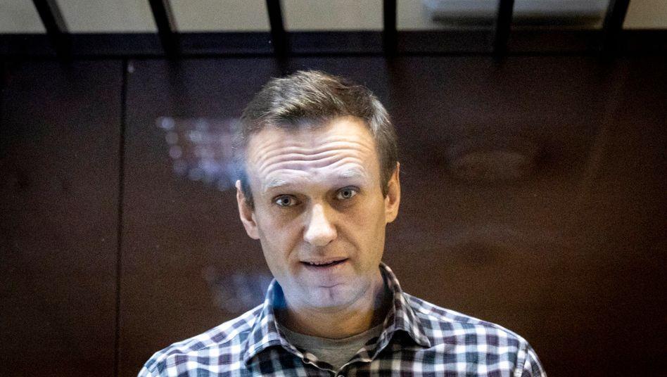 Nawalny am Samstag in Moskau