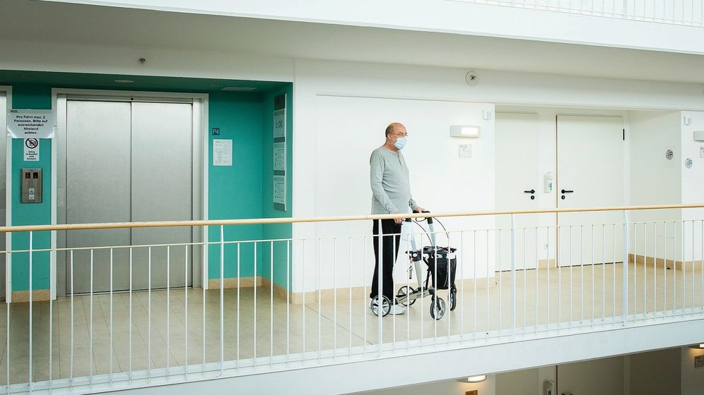 Long-Covid-Patient Eilhoff in der Schön-Klinik in Schönau am Königssee