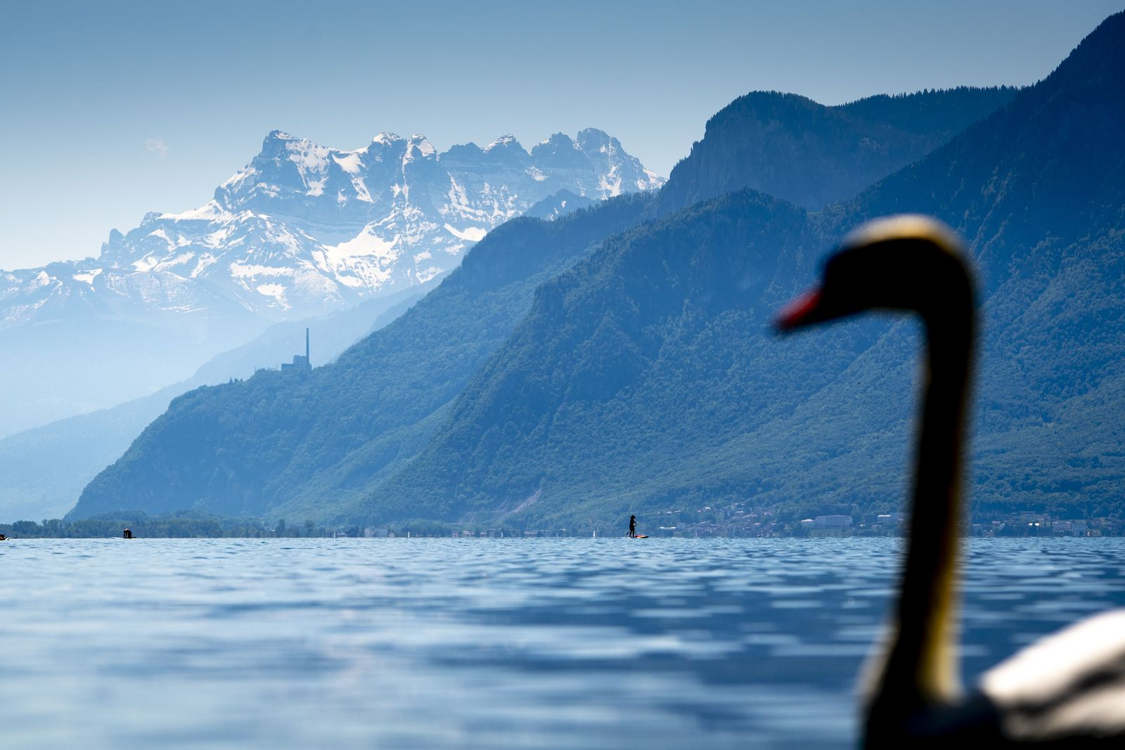 Swiss businesses to reopen with precautionary measures, Vevey, Switzerland - 09 May 2020