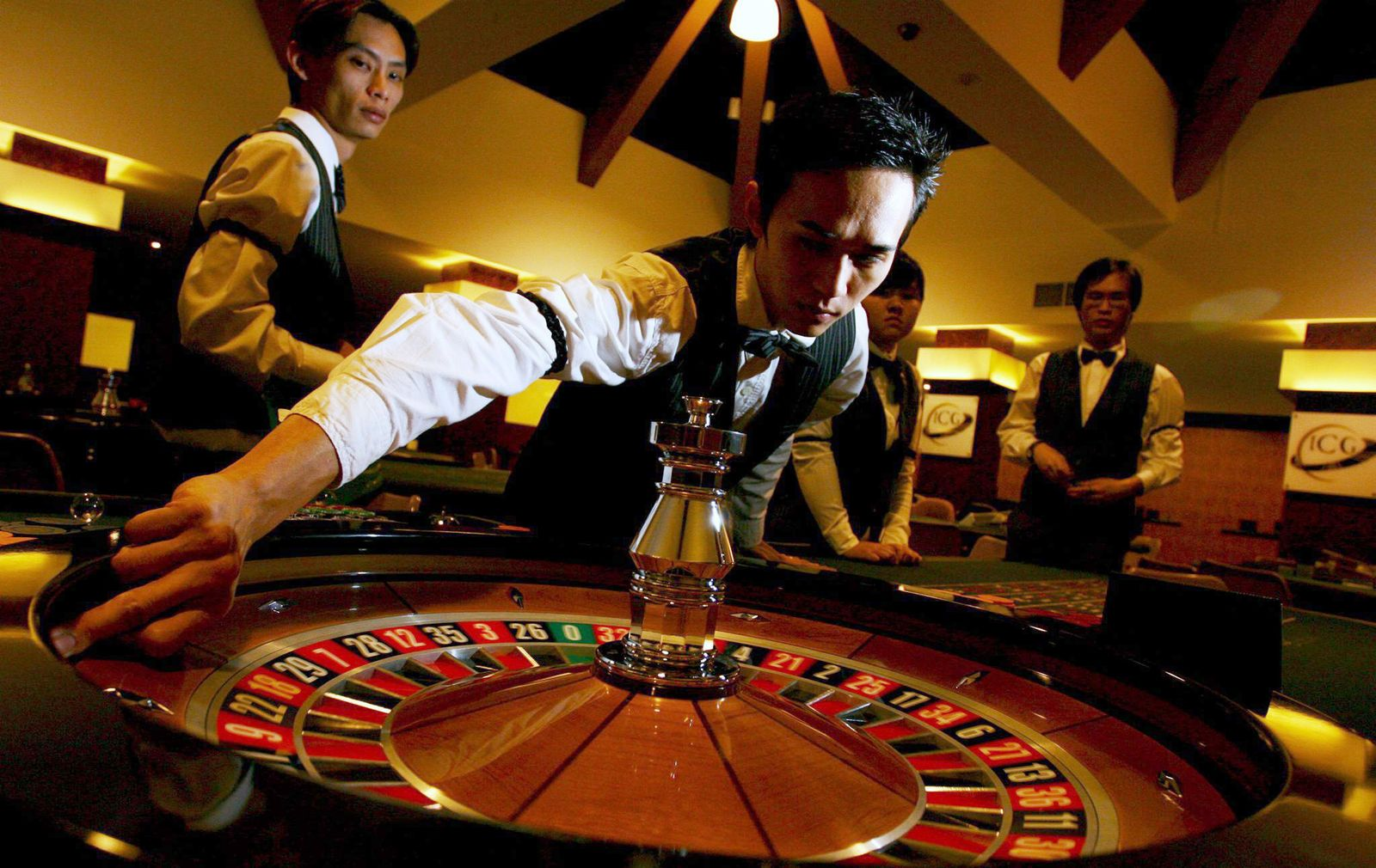 Casino / Croupier
