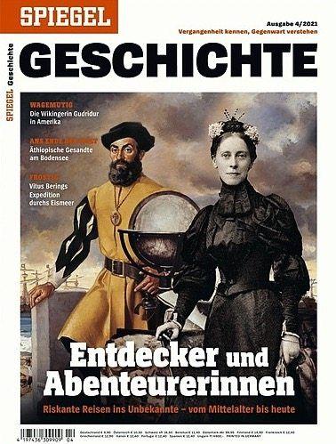 Titelbild: Die Collage zeigt Ferdinand Magellan und Mary Kingsley.