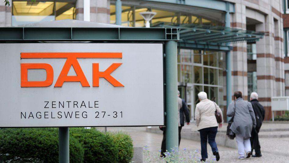Zentrale der DAK (in Hamburg)