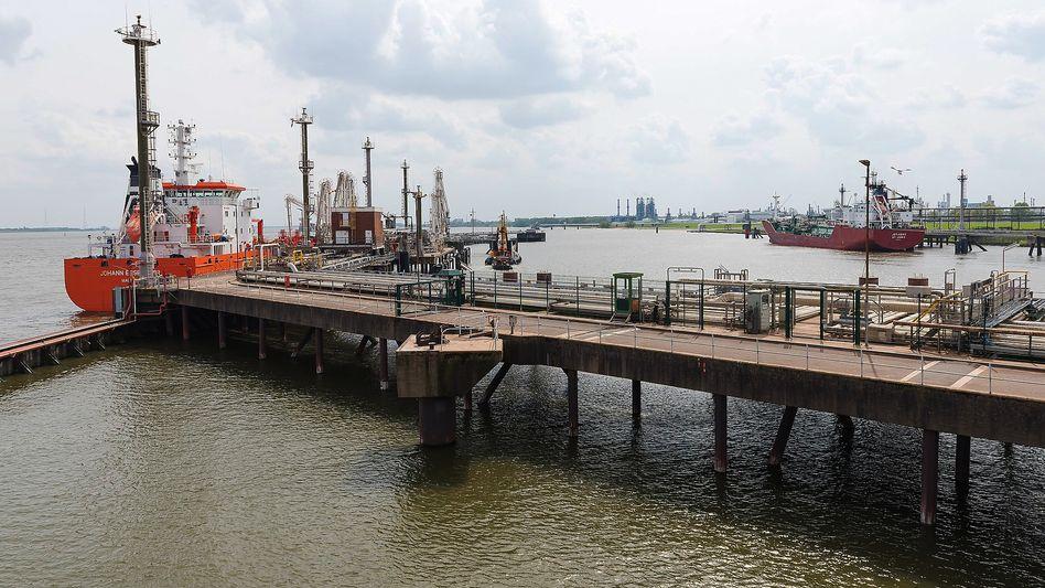 Gastanker in Stade: Hier könnte ein LNG-Terminal entstehen (Archiv)