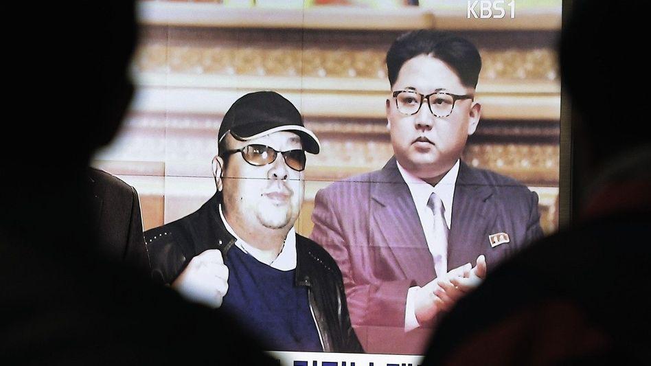Halbbrüder Kim Jong Nam, Kim Jong Un(*): »Kein Erbarmen«