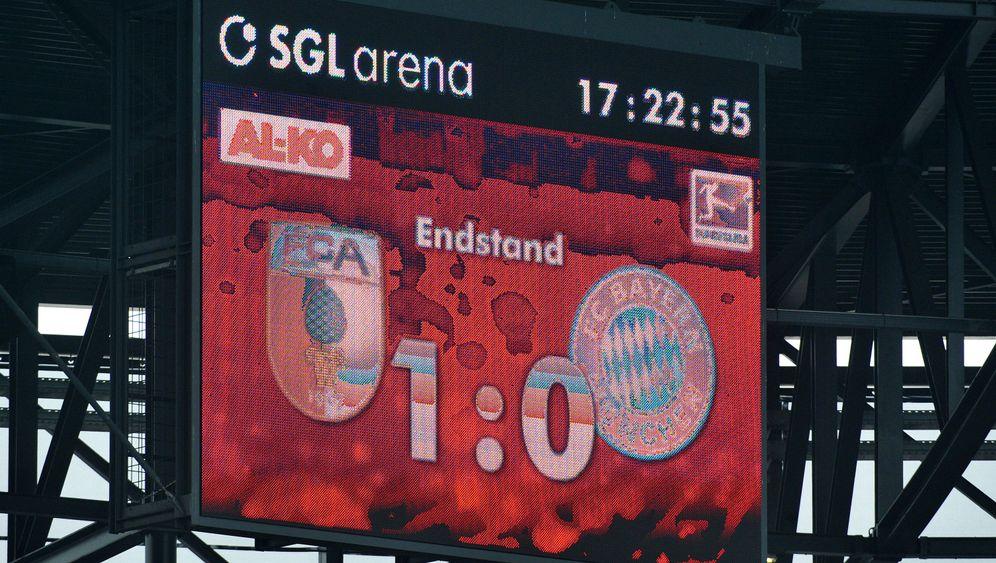 Bayern-Niederlage in Augsburg: Peps Premiere