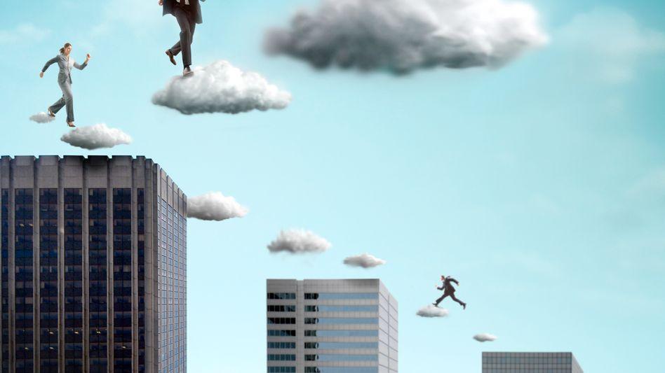 Arbeiten in der Cloud (Symbolbild): Nutzer sollen die Wolke schneller wechseln können