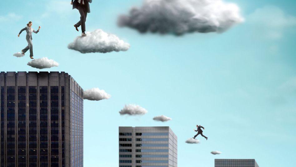 Wolkenkuckucksheim (Symbolbid): Vertikale Integration weniger Konzerne