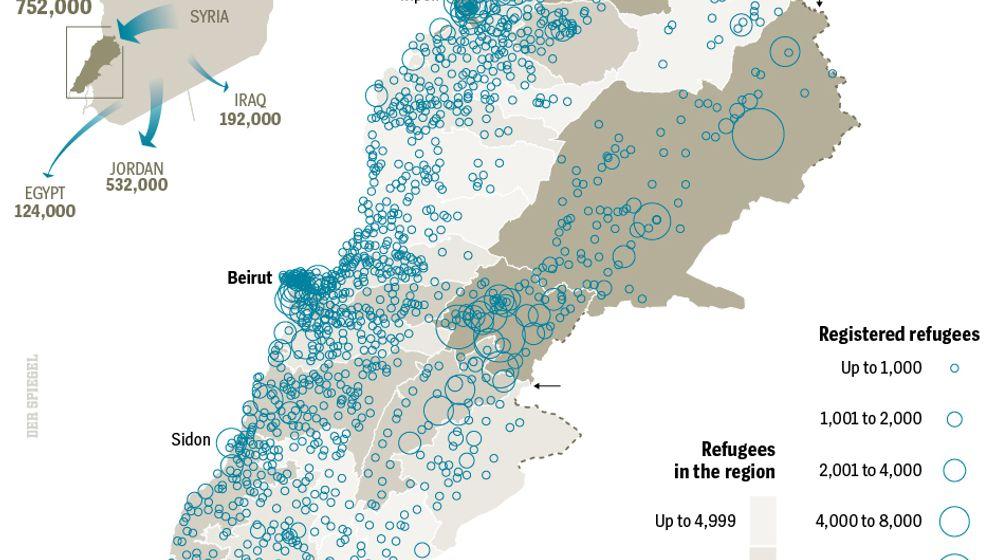 Photo Gallery: Lebanon's Dire Refugee Crisis