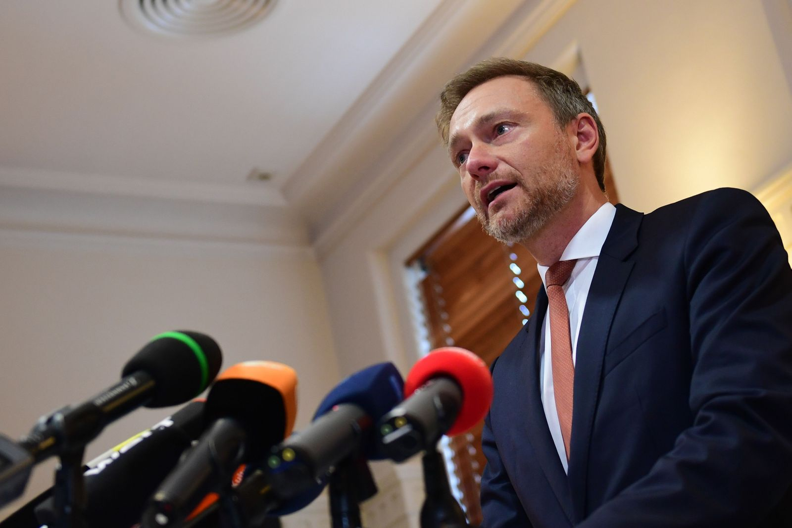 New elected State Prime Minister of Thuringia resigns, Erfurt, Germany - 06 Feb 2020