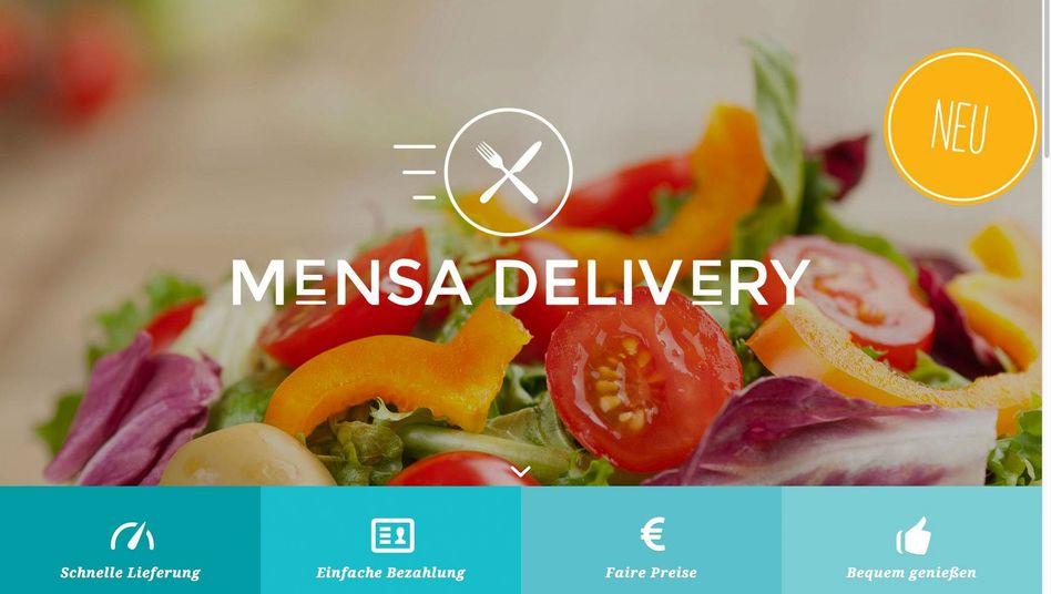 Gute Idee: Lieferservice direkt aus der Mensa