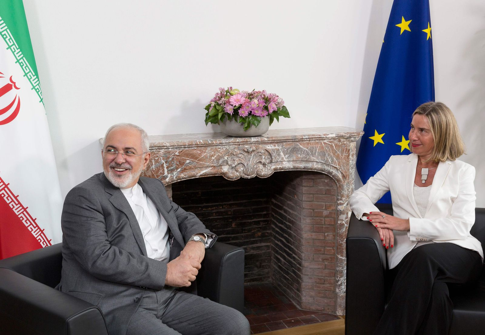 Mohammad Javad Zarif Federica Mogherini