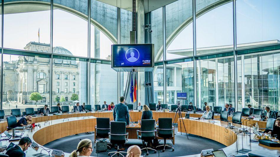 Untersuchungsausschuss zum Scheitern der Pkw-Maut