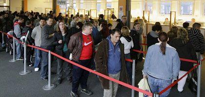 Arbeitslose in Berlin: Die Deutschen fürchten um ihren Job