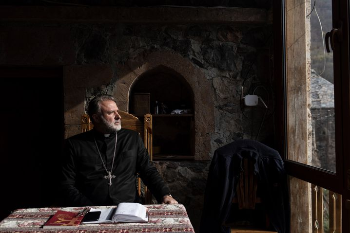 "Father Hovhannes: ""How long will the peacekeeping troops be around? Five years? Fifty years? Nobody knows."""