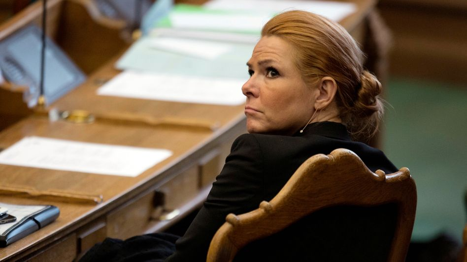Inger Støjberg im Folketing
