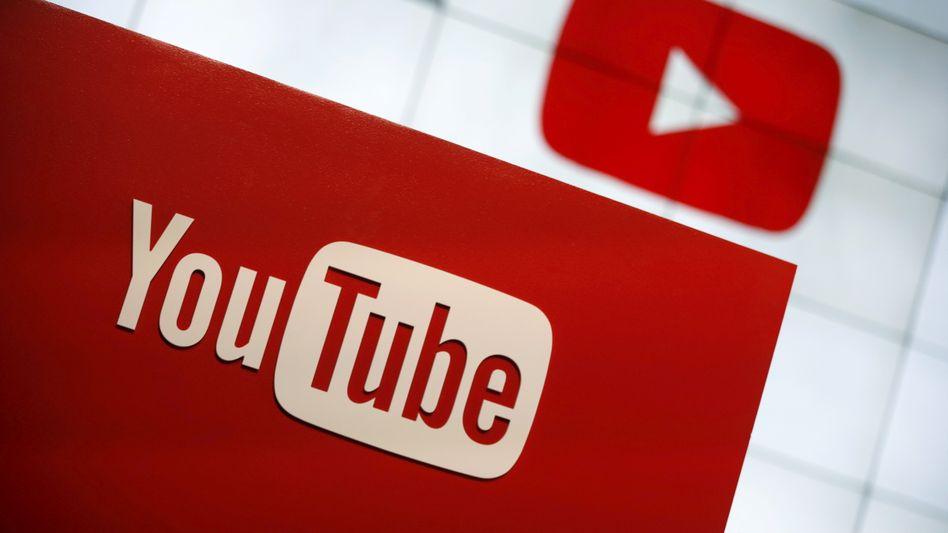 Auch auf YouTube sollte die Kampagne offenbar laufen