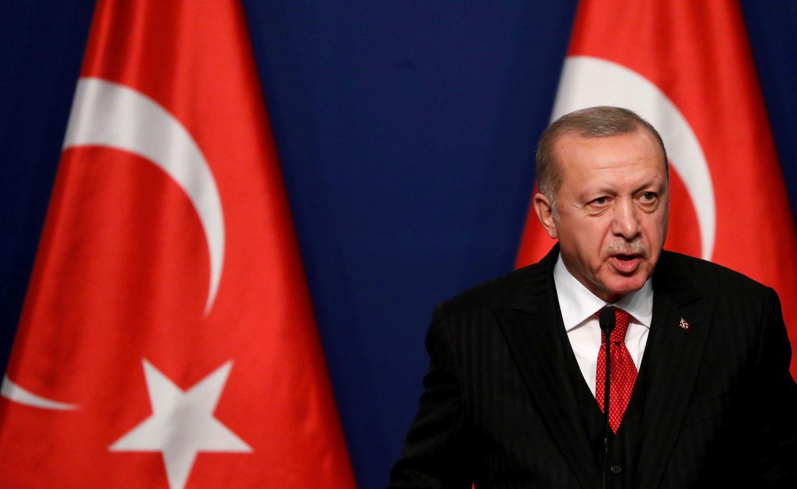FILE PHOTO: Turkish President Recep Tayyip Erdogan visits Hungary