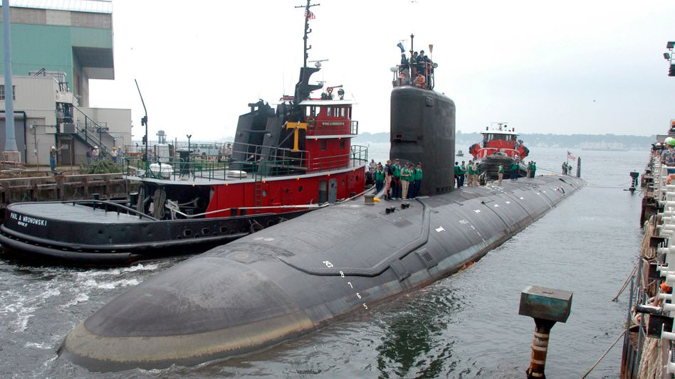 U-Boot »U.S.S. Virginia« (Archivbild): Bei dem Material handelt es sich offenbar um Informationen zúr »Virginia-Klasse«