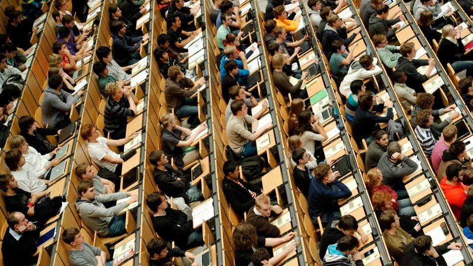 Studenten der TU in München (Archivbild)