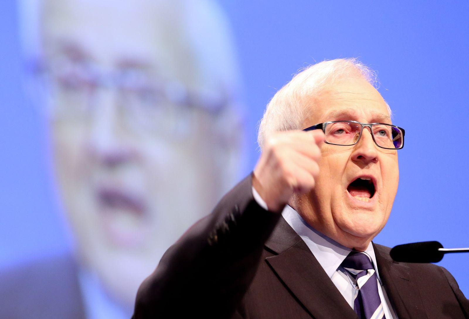 Rainer Brüderle/ FDP Bundesparteitag