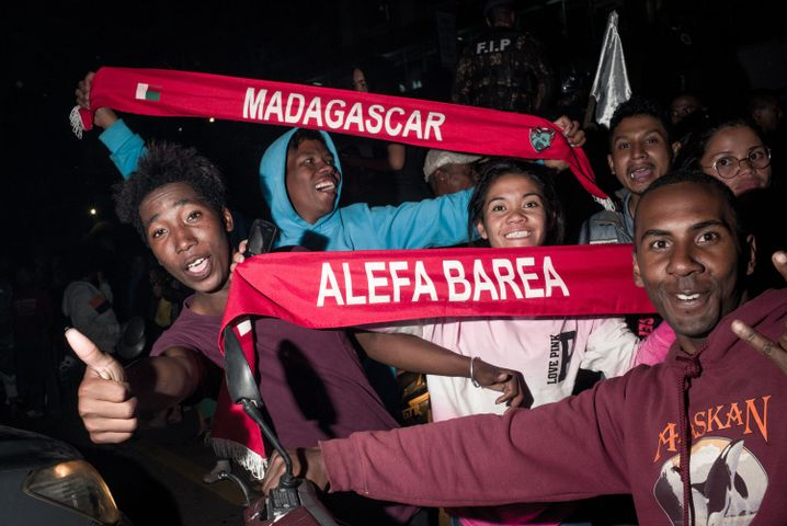 """Große Freude bei den Fans der """"Barea"""""""