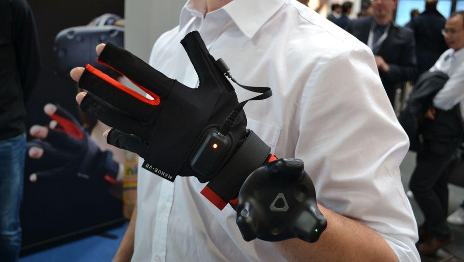 Handschuh von Manus VR